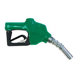 "1"" Green Auto Shut-Off Fuel Nozzle"