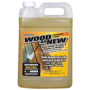 1:5 Super Concentrate Wood-As-New Pressure Washer Cleaner