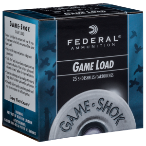 "Game-Shok 20 Gauge 2-3/4"" Shotshell 7/8 oz #6"