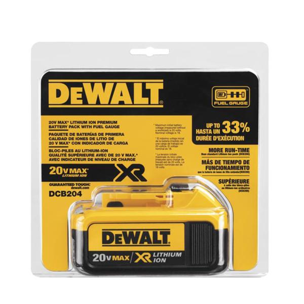 Murdoch's – DEWALT - 20V MAX* Battery (4Ah) DCB204