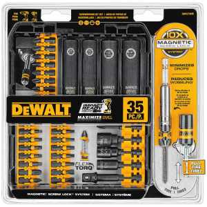 35 Piece Impact Ready Screwdriving Set DWA2T35IR