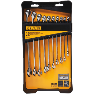 10 Piece Combination Wrench Set (MM) DWMT72166
