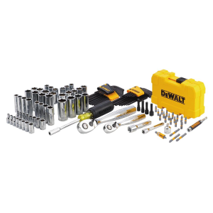 "108-Piece 1/4"" & 3/8"" Drive Mechanics Tool Set"
