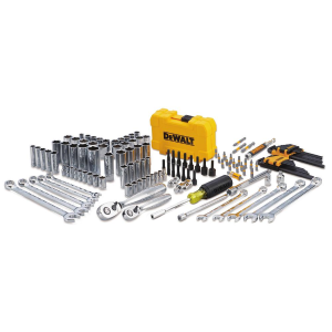 "142-Piece 1/4"" & 3/8"" Drive Mechanics Tool Set"