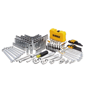 "168-Piece 1/4"", 3/8"" & 1/2"" Drive Mechanics Tool Set"