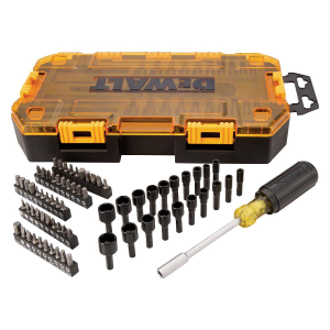 "70-Piece 1/4"" Multi-Bit & Nut Driver Set DWMT73808"