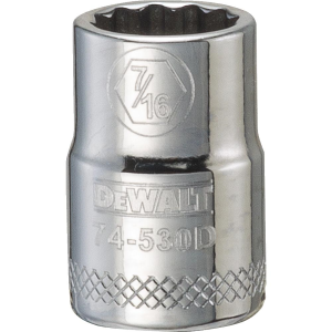 "3/8"" Drive 12-Point Socket - SAE"