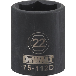 "1/2"" Drive 6-Point Impact Socket - Metric"