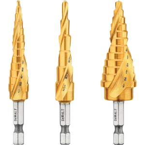 3-Piece Impact Ready Step Drill Bit Set DWA1790IR