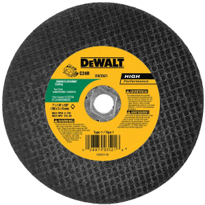 "7"" x 1/8"" x 5/8"" Diamond Drive Masonry Cutting Wheel DW3521"