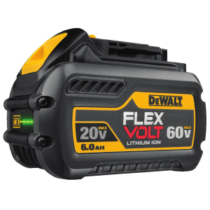 20V/60V MAX* FLEXVOLT 6.0 Ah Battery DCB606