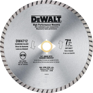 "7"" High Performance Diamond Masonry Blade"