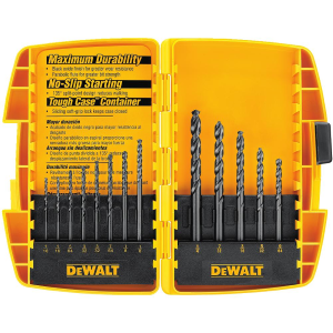 13-Piece Black Oxide Drill Bit Set