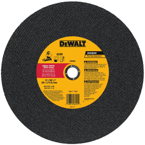 "14"" x 7/64"" x 1"" General Purpose Cutting Wheel DW8001"