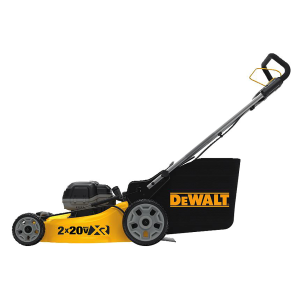 2X 20V MAX 3-in-1 Cordless Lawn Mower (2 x 5.0Ah) DCMW220P2