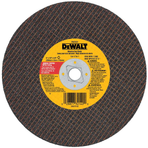"8"" x 1/8"" x 5/8"" Diamond Drive Metal Cutting Blade DW3531"