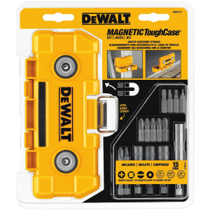 15-Piece Magnetic ToughCase Tool Set DWMTC15