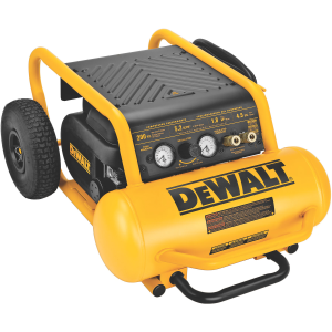 1.6 HP Continuous, 200 PSI, 4.5 Gallon Compressor D55146