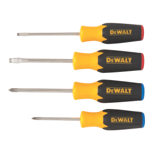 4 Pc Screwdriver Set DWHT62512