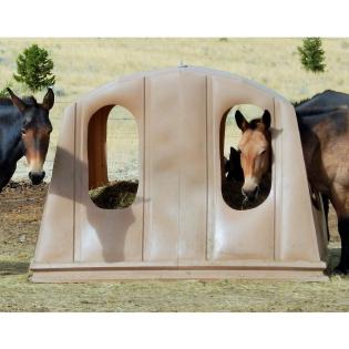 Murdoch's – Bale Barns - Equine Bale Barn With Net