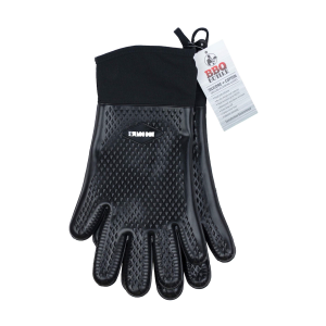 Cotton Lined Heat Resistant Silicone Glove