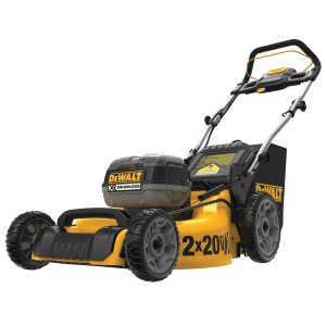 2 x 20 20 Volt Battery Operated Brushless Push Mower DCMW220X2C