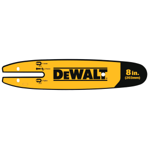 "8"" Pole Saw Replacement Bar DWZCSB8"