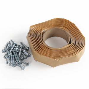 Universal Vent Installation Kit with White Butyl Tape