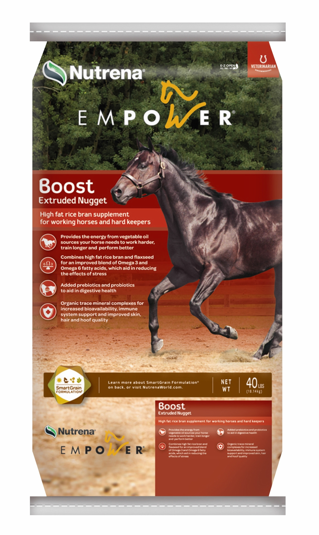 Murdoch S Empower Boost High Fat Rice Bran Horse