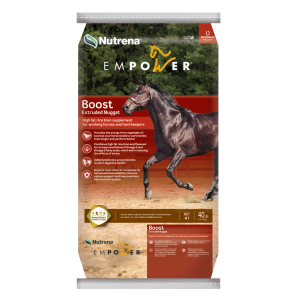 Boost High-Fat Rice Bran Horse Supplement
