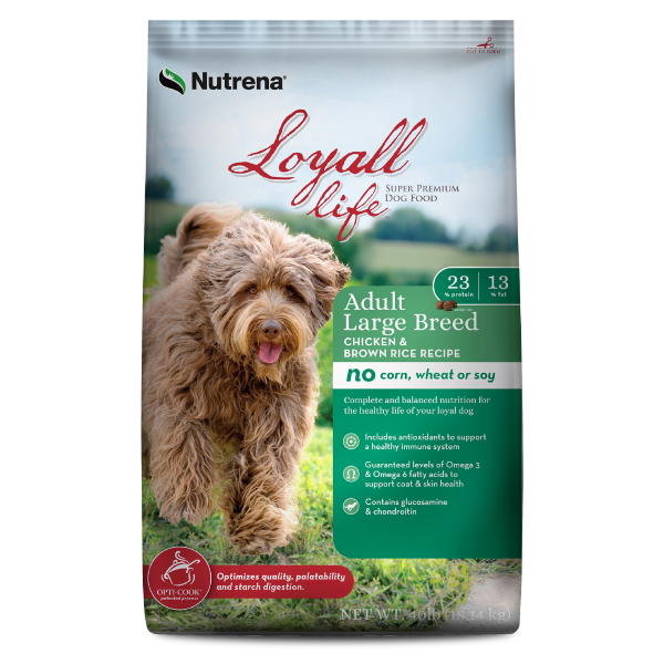 Chicken & Rice Large Breed Dog Food
