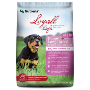 Chicken & Rice Large Breed Puppy Food