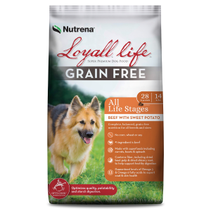 Grain Free Beef & Sweet Potato All Life Stages Dog Food