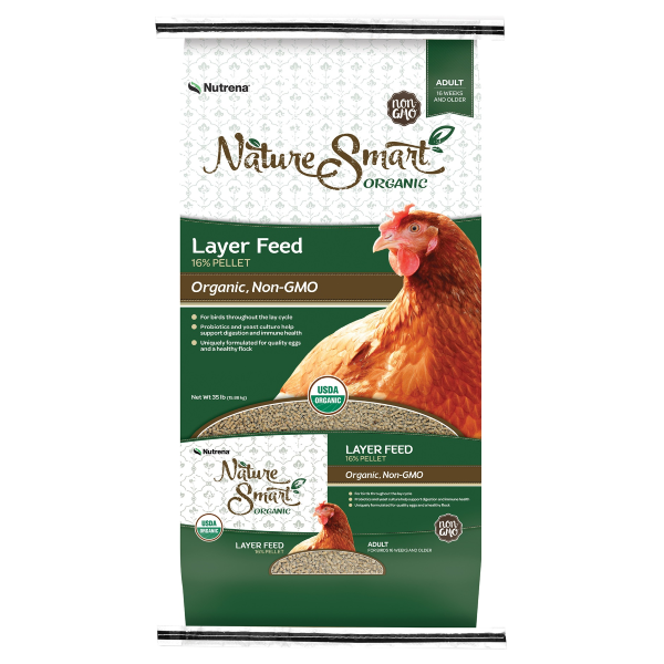 Organicnon Gmo Layer Poultry Feed 16 Pellets