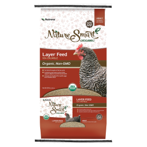Organic/Non-GMO Layer Poultry Feed - 16% Crumble