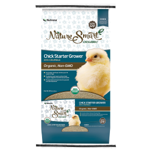 Organic/Non-GMO Chick Starter Grower Feed - 20% Crumble