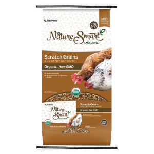 Organic/Non-GMO Scratch Poultry Feed