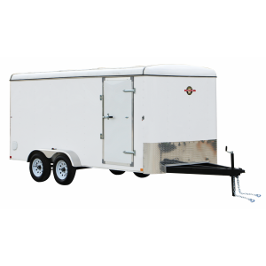6 x 12 7000 lb GVWR 6' Enclosed Trailer