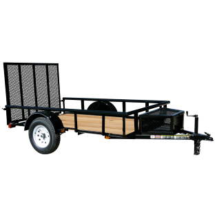Murdoch S Carry On 6 X 12 Wood Floor Trailer With Ramp Gate