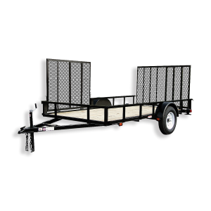 6 x 12 Wood Floor Trailer with Dual Ramp Gates