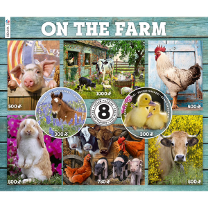 On the Farm Puzzle Bunch - Assorted