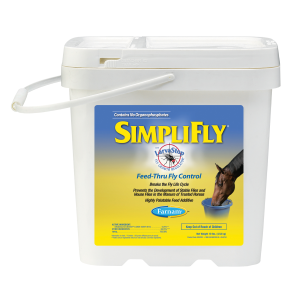 SimpliFly Feed-Thru Fly Control for Horses