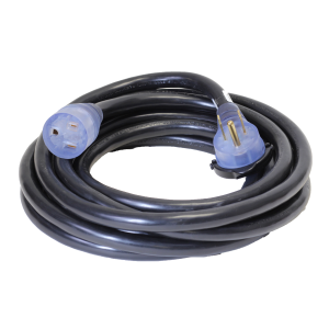 Black Pro Grip Welding Extension Cord - 8/3