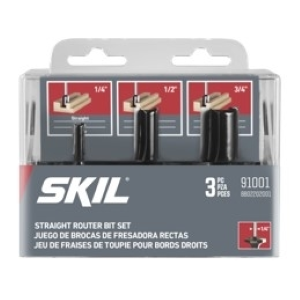 Straight Router Bit Set