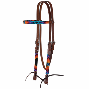 Browband Headstall Infin Wrap Bead