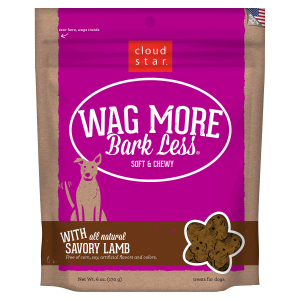 Wag More Bark Less Soft & Chewy Savory Lamb Dog Treats