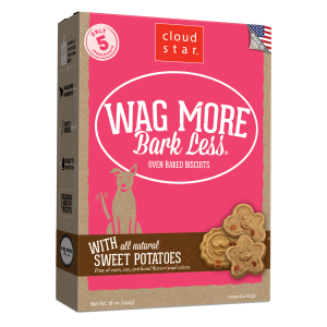 Wag More Bark Less Oven-Baked Chicken & Sweet Potatoes Dog Treats