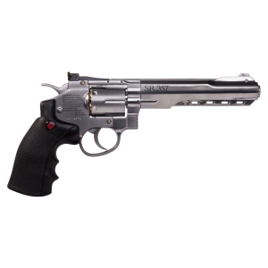 SR357 Silver CO2 Powered BB Revolver