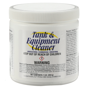 Tank and Equipment Cleaner