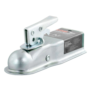 "1-7/8"" Straight-Tongue Coupler with Posi-Lock (2-1/2"" Channel, 2,000 lbs., Zinc) #25105"